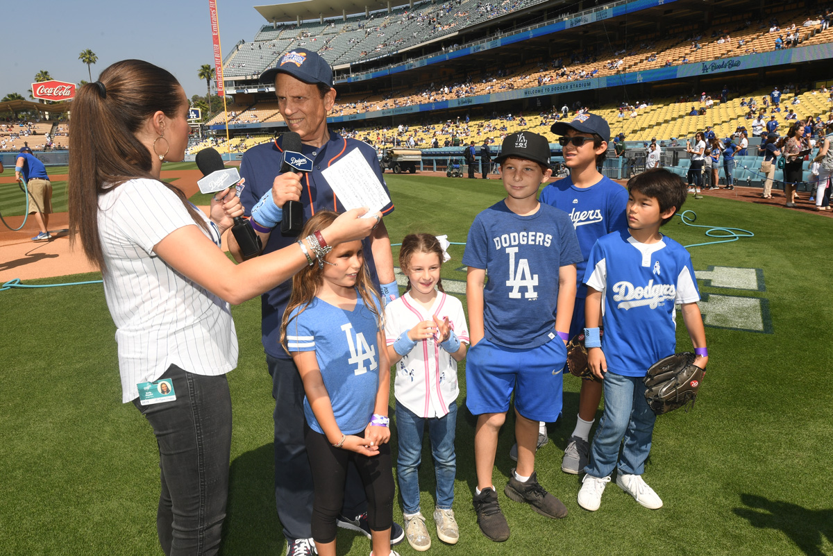 Home Run Challenge at Dodgers